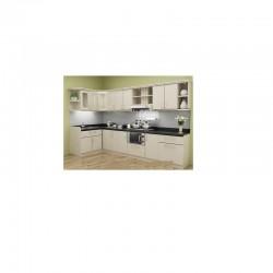 Tủ bếp gỗ MDF chống ẩm loại ván thường