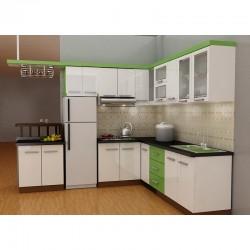 Tủ bếp MDF chống ẩm An Cường ( mặt cánh Acrylic )
