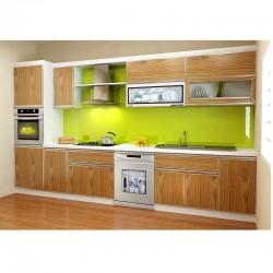 Tủ bếp gỗ nhựa Picomat ( phủ Acrylic 1 mặt )