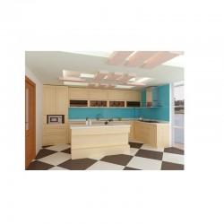 Tủ bếp inox 304 - Cánh Sồi Nga