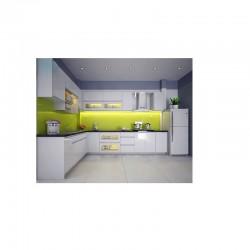 Tủ bếp inox 304 - Cánh xoan đào HAGL