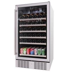 Tủ rượu bảo quản rượu Malloca MWC - 89S độc lập