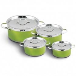 Bộ nồi từ 4 chiếc Inox Chefs CH-CW4304