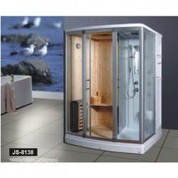Phòng tắm xông hơi khô kết hợp ướt Govern JS 8138