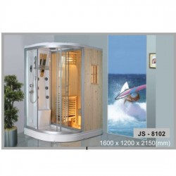 Phòng tắm xông hơi khô kết hợp ướt Govern JS 8102