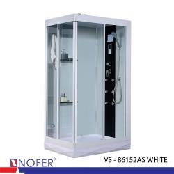 Phòng tắm xông hơi Nofer VS-86152AS White