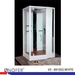 Phòng tắm xông hơi Nofer VS-89105S (R) White
