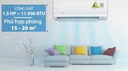 Máy lạnh điều hòa 1 chiều Daikin ATKC35TVMV  công nghệ Inverter 1.5 HP