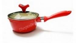 Nồi bếp từ tráng sứ 16cm màu đỏ 2355589